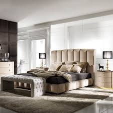 Bedroom Wall Padding Uk High End Italian Padded Nubuck Leather Bed Juliettes Interiors