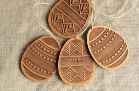 easter decor made of wood this wooden ornaments decorate your