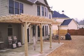 Attaching Pergola To House by Pergolas U0026 Arbors U2014 Academy Fence Brokers