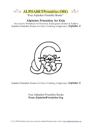 letter c alphabet printables for kids alphabet printables org