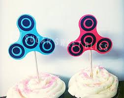 spinner cake topper etsy