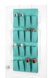 Door Shoe Organizer Whitmor Turquoise Over The Door Shoe Organizer Nordstrom Rack
