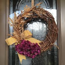 springtime wreath wreaths with purple wreaths with yellow