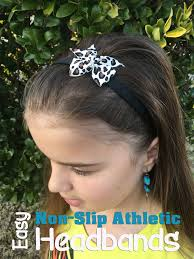 headbands that don t slip sewing business make athletic non slip headbands for pennies