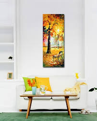wandbilder fã r schlafzimmer aliexpress 100 handmade malerei der welt golden sea