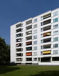 hidden architecture hansaviertel apartment house