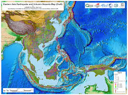 Pacific Region Map G Ever Asia Pacific Region Earthquake And Volcanic Hazard