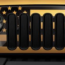 Rugged Ridge Billet Grille Inserts In Black Jeep Custom Grilles Billet Mesh Cnc Led Chrome Black