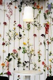 Fake Flowers My Camera My Washi Tape Minimal Floral Backdrop Wedding Decor Pinterest