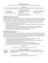 It Manager Resume Template Information System Manager Resume Computer Information Systems