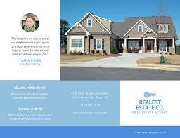 real estate brochure templates canva