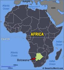 africa map deserts map of botswana facts information beautiful world travel guide