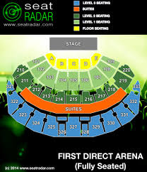 leeds arena floor plan first direct arena seatradar com