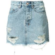 denim skirts best 25 ripped denim skirts ideas on jean skirt style