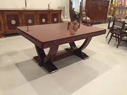french art deco dining table by gaston poisson u2013 1 of a kind nj