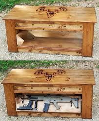 high capacity buckshot coffee table