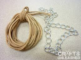 make leather cord bracelet images Easy diy leather and chain quot braid quot wrap bracelet jpg