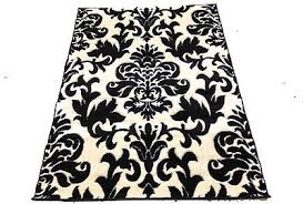 Modern Damask Rug Rugs To Design A Room Around Collection On Ebay