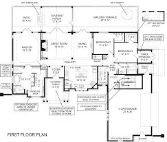 One Story House Plans With Walkout Basement by Brilliant Walkout Basement Floor Plans House Home Designs Ranch