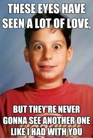 weird eyes kid memes quickmeme