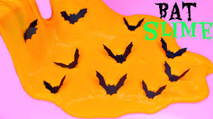 how to make halloween bat slime make easy slime diy bat slime