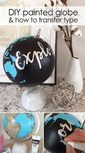 best 25 painted globe ideas on pinterest globes globe and