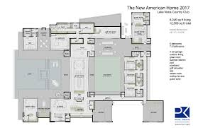 nahb modern contemporary house plan new american home 2017