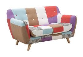 divanetti due posti divano 2 posti divanetto vintage imbottito fantasia patchwork