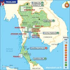 map of thailand golf map thailand top 100 golf courses best destinations
