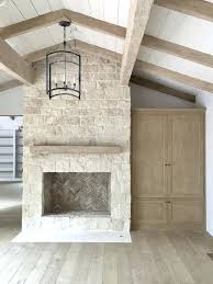 how do you whitewash stone fireplace fireplaces ideas white wash to before and after