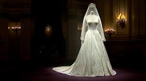 display wedding dress overheard criticising duchess wedding dress display