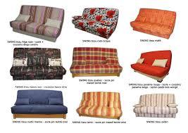 tissu housse canapé les banquettes clic clac de affaires meuble à marennes olé