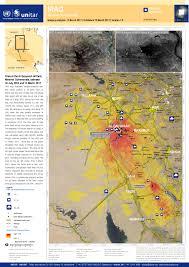 Idaho Fires Map Fires At The Al Qayyarah Oil Field Nineveh Governorate Between