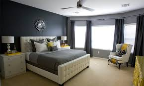 15 visually pleasant yellow and grey bedroom designs home design