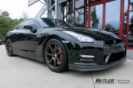 nissan gtr wheel size nissan gtr with 20in hre rs108m wheels exclusively from butler