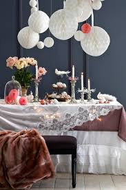 Home Table Decor by Modern Christmas Decor Ideas Are All Style And Chic