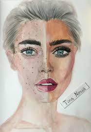 makeup artist sketchbook 1061 best my drawings my images on