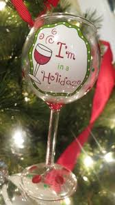 this festive acrylic wine glass is the wine