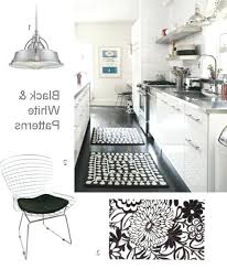 Black And White Striped Kitchen Rug Black And White Kitchen Rug Tapinfluence Co