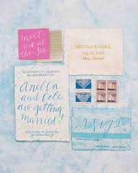 summer wedding invitations 46 fresh summer wedding invitations martha stewart weddings