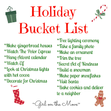 How To Put Christmas Lights On Tree by Holiday Bucket List On The Move Blog