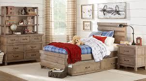 montana driftwood 5 pc panel bedroom bedroom sets