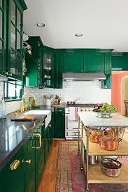 joanna gaines painted kitchen cabinets green joanna gaines iacute color secret for a kitchen with wow