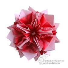 Origami Modular Flower - 424 best flower origami images on pinterest origami flowers