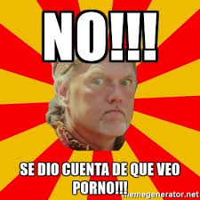 Memes De Porno - no se dio cuenta de que veo porno angry gypsy man meme