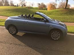 convertible nissan used nissan micra c c convertible 1 6 essenza 2dr in warwick