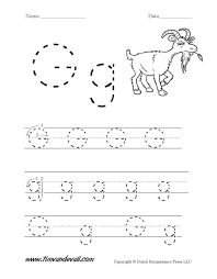 letter g worksheets preschool alphabet printables kindergarten