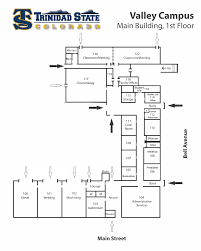 Colorado State University Campus Map by Trinidad State Junior College Valley Campus Maps