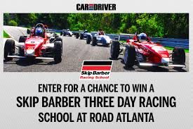 Magazine Sweepstakes Skip Barber Racing Sweepstakes