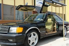 mercedes 500 for sale 1983 mercedes 500sec gullwing styling garage german cars for